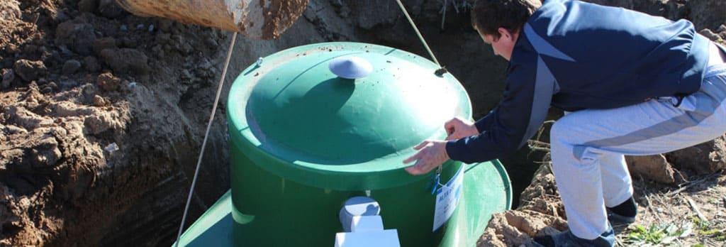 Как устанавливается септик на даче
